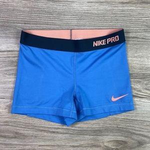 {Nike Pro} Compression Athletic Shorts Sz S